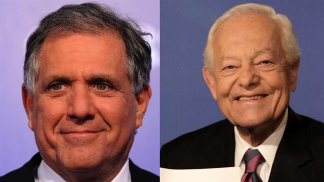 Schieffer, Moonves named to TV Hall of Fame