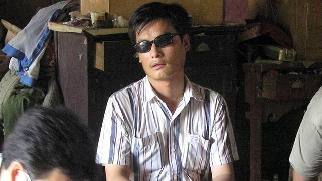 Chen Guangcheng: Chinese Dissident Arrives US
