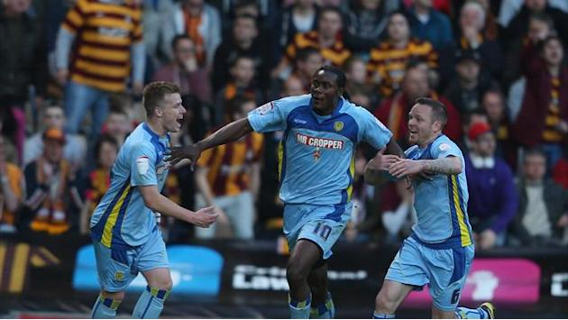 League Two - Advantage Burton after play-off win at Bradford