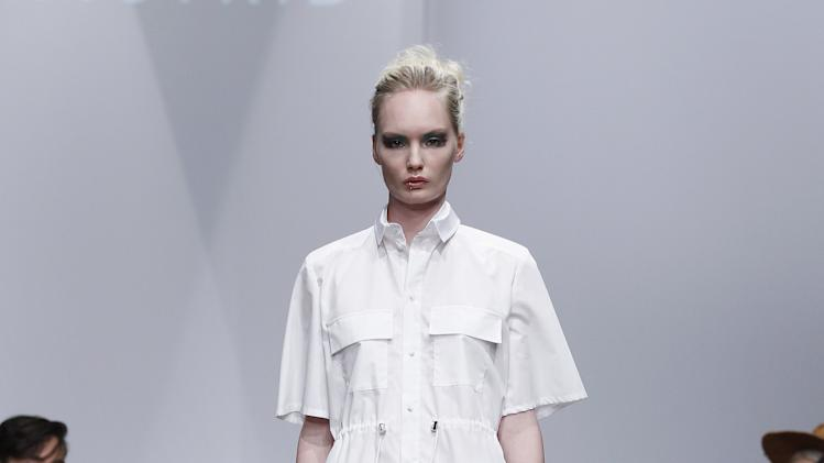 Josefin Strid: Mercedes-Benz Stockholm Fashion Week S/S 2013
