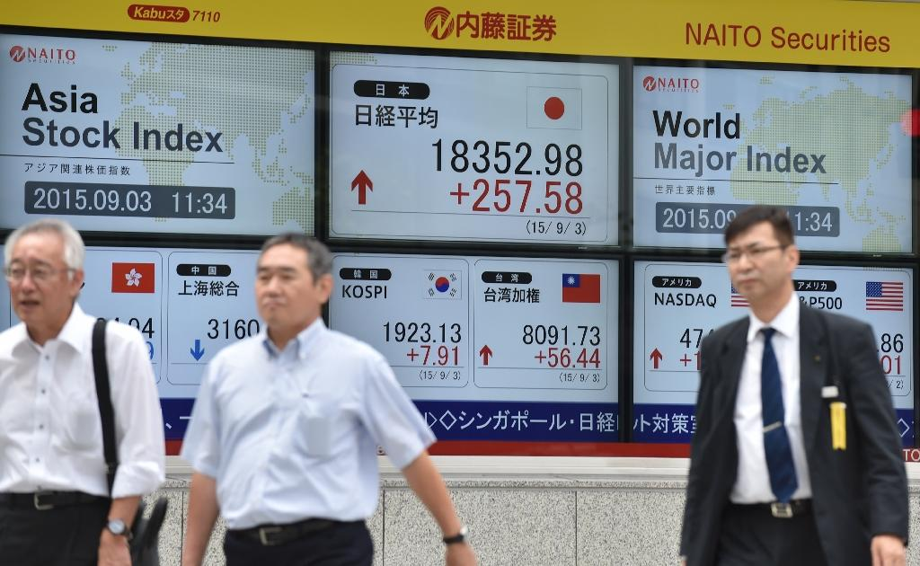Asia markets mostly higher as China marks holiday
