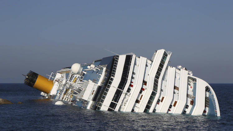 Salvage experts weigh the options for Concordia
