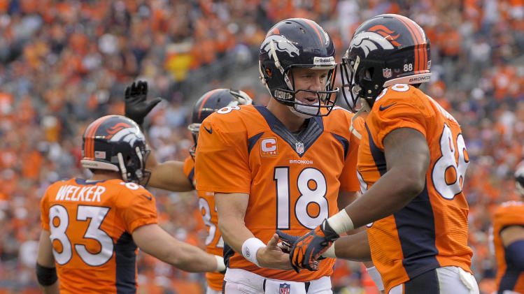 Manning breaks mark for most 4 or more TD games