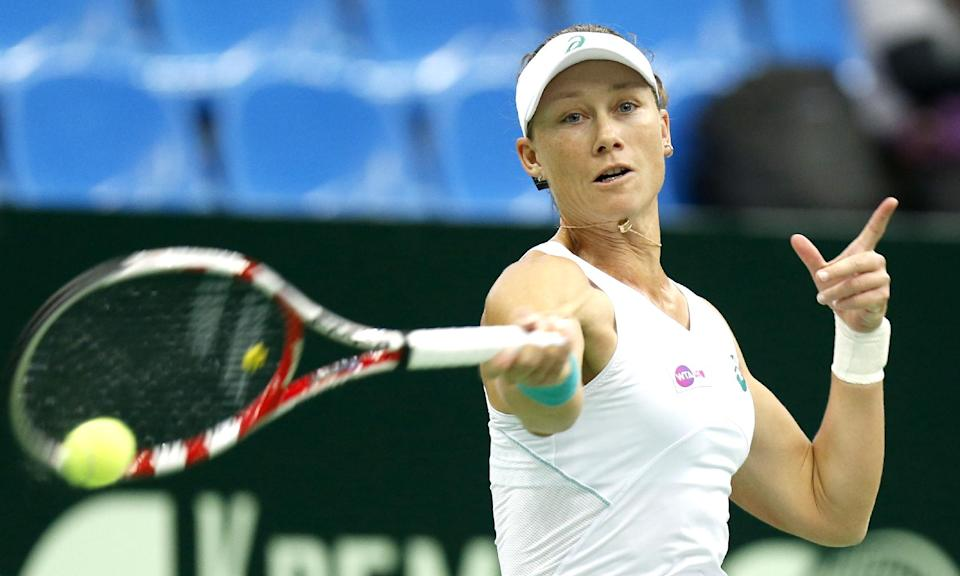 Stosur to play Halep at Kremlin Cup final