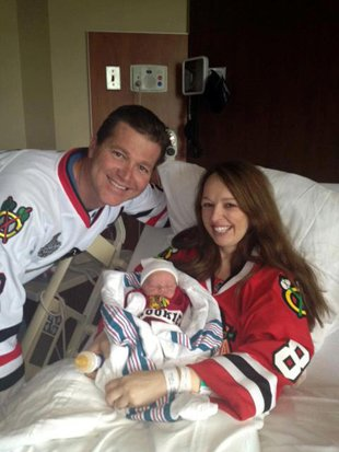 No Way: Diehard Hawks Fan Wasn't Going To Miss An Elimination Game Just To Give Birth To Some Baby