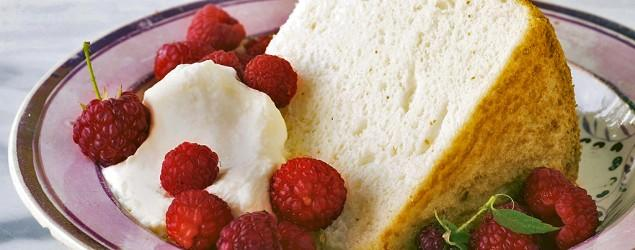 Angel food cake: Airy, virtually fat-free, divine