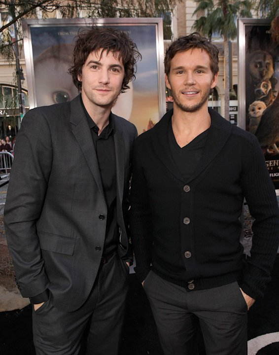 Legend of the Guardian LA Premiere 2010 Jim Sturgess Ryan Kwanten