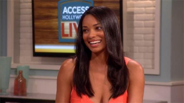 Rochelle Aytes visits Access Hollywood Live, May 24, 2013 -- Access Hollywood