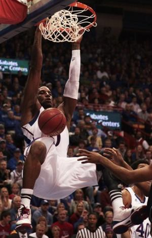 No. 17 Jayhawks roll to 89-34 win over Howard