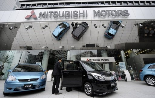 <p>The Mitsubishi Motors' headquarters in Tokyo. Japan's Mitsubishi Motors said Wednesday that it would sell its sole European plant to a Dutch industrial group for one euro in a deal that calls on the buyer to keep 1,500 jobs at the facility.</p>