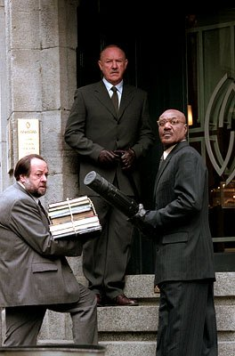 Ricky Jay , Gene Hackman and Delroy Lindo in Warner Brothers' Heist