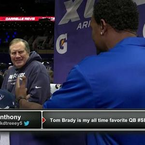 New England Patriots head coach Bill Belichick: We are similar teams