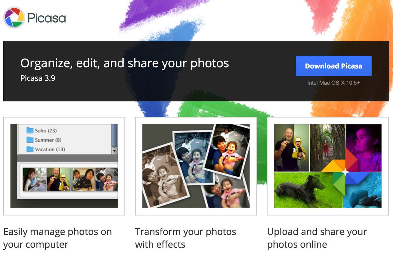 Google will shut down Picasa this spring