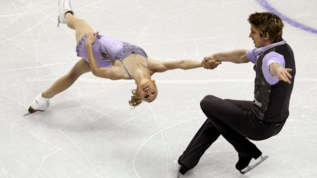 British figure skaters Stacey Kemp and David King (Reuters)