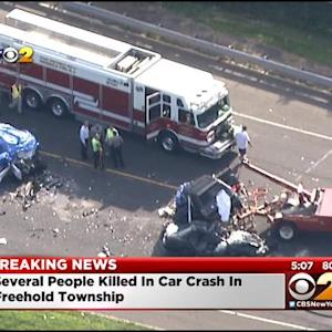 Several Killed In Car Crash In Freehold Township