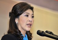Thailand's Prime Minister Yingluck Shinawatra, pictured in March 2012. Hundreds of police are expected to surround Thailand's Constitutional Court Friday as the country braces for a crunch ruling that threatens to rip open the kingdom's bitter political divisions