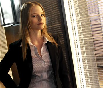 Rachel Nichols as Agent Rebecca Locke FOX's The Inside