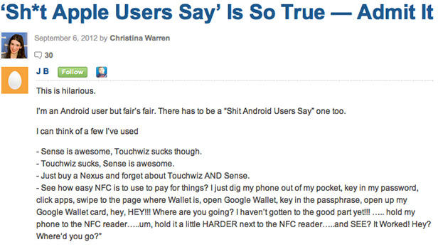 Top 8 Comments on Mashable This Week