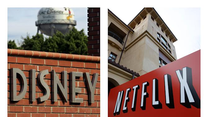 Netflix shares rise on optimism about Disney deal