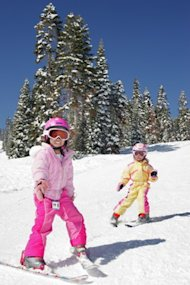 Kids Skiing_Rosen