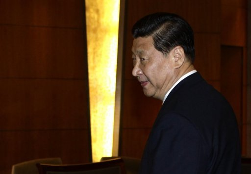 <p>China blocked web searches Saturday for the name of leader-in-waiting Xi Jinping (pictured in May), a day after cutting access to Bloomberg sites following the agency's publication of a report on his family's wealth.</p>
