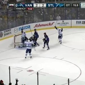 Ryan Kesler wins it in OT
