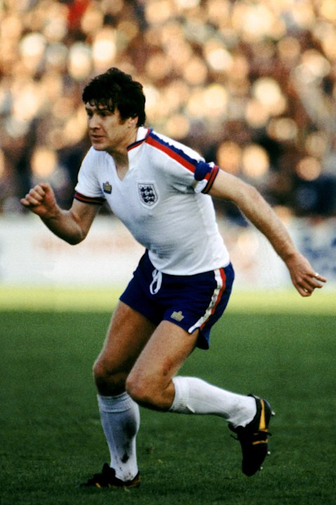 9 - Emlyn Hughes - 23 caps as captain - Pictured 1979