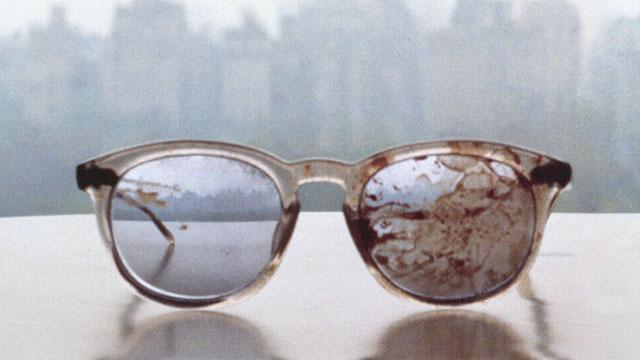 Yoko Ono Tweets Pic of Bloodied Lennon Glasses
