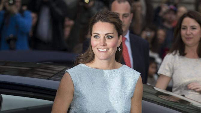 The Duchess Of Cambridge Attends The Art Room Reception