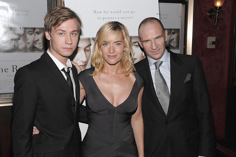 The Reader NY Premiere 2008 David Kross Kate Winslet Ralph Fiennes