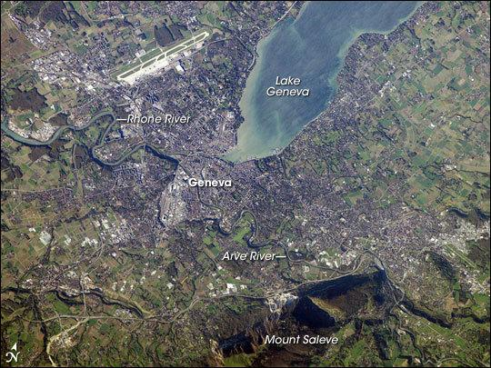 Ancient Tsunami Swept Through Swiss Lake