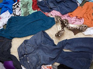 Unworn Clothing (Tags Off)