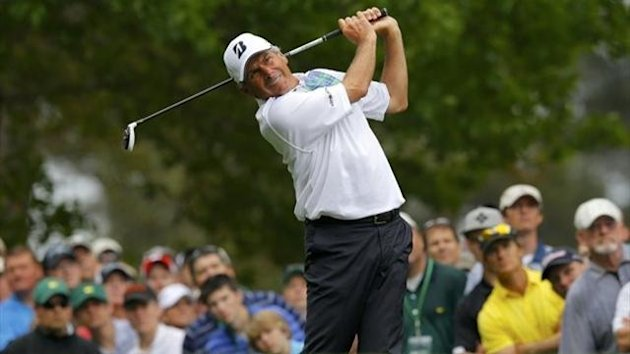Fred Couples on the 4th at Augusta