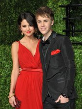 selena gomez - justin bieber