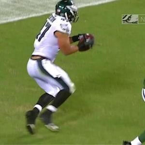 Philadelphia Eagles tight end Trey Burton 21-yard TD reception