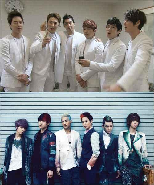 Shinhwa Sends Words of Encouragement to Teen Top from Japan