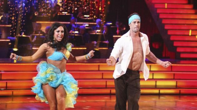William Levy shows off some skin while performing with partner Cheryl Burke on 'Dancing with the Stars' on April 2, 2012 -- ABC