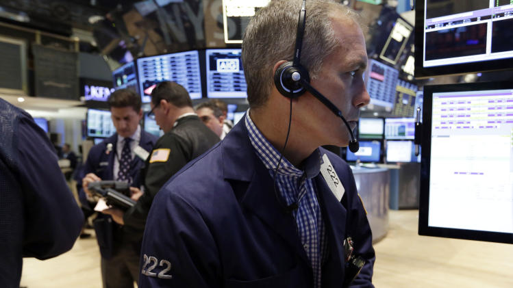 Stocks eke out tiny gains on Wall Street