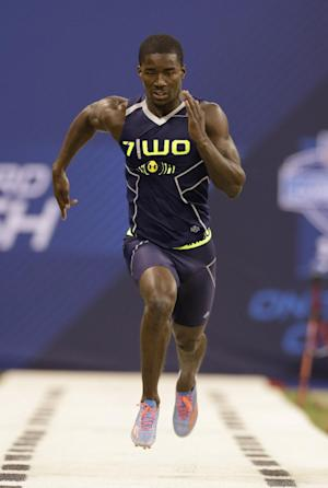 Speedster Brown took long, tough road to NFL