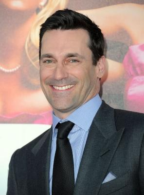"""Jon Hamm smiles at the premiere Of Universal Pictures' """"Bridesmaids"""" at Mann Village Theatre  in Westwood, Calif., on April 28, 2011 -- Getty Images"""