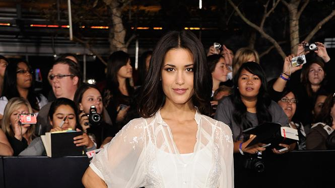 The Twilight Saga Breaking Dawn Part 1 2011 LA Premiere Julia Jones