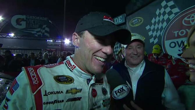 Victory Lane: Richmond smiles on Harvick