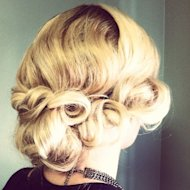 A classic Chignon is easy to achieve with these simple steps.
