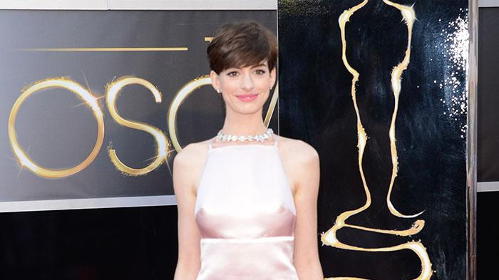85th Annual Academy Awards - Arrivals: Anne Hathaway