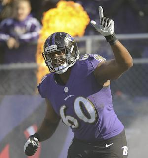 Monroe anchors Flacco's blind side as Ravens LT