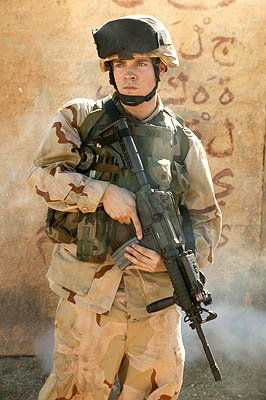Josh Henderson as Pfc. Bo Rider