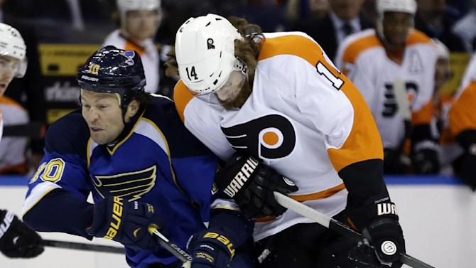 Miller, Blues blank Flyers 1-0 in shootout