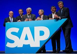 SAP said in a statement its net profit rose by 18% to 831 million euros in the period from April to June