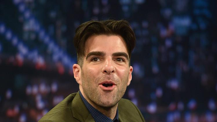 "Zachary Quinto Visits ""Late Night With Jimmy Fallon"""