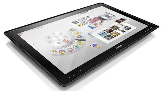 Lenovo to release giant 27-inch 'coffee table PC'